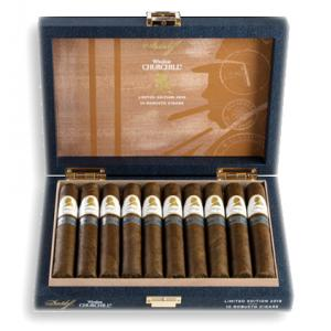 Davidoff Winston Churchill LE 2019 The Traveller Robusto Cigar - Box of 10