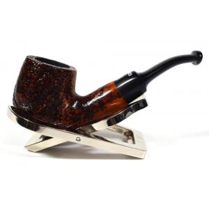 Dr Plumb Dinky Rustic Metal Filter Fishtail Briar Pipe (DP108)