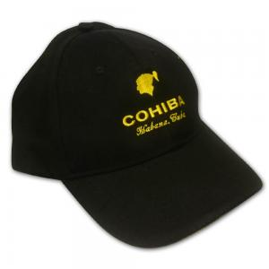 Cohiba Habana Cuba Cap - Black and Yellow