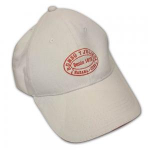 Romeo Y Julieta Cap - White and Red