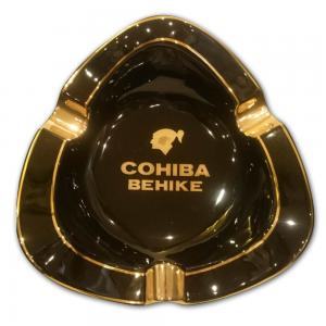 Cohiba Behike Ashtray - Black and Gold