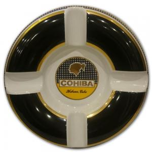 Cohiba Classic Ashtray - Black and White