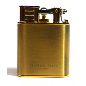 Dunhill - Unique Turbo Duke Alfred Dunhill Brass Gold Plated Lighter