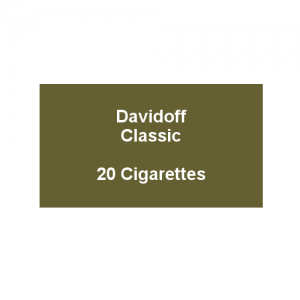 Davidoff King Size Classic - 1 pack of 20 cigarettes (20)