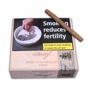 Davidoff Mini Cigarillos - Gold - Box of 50