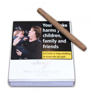 Davidoff Mini Cigarillos Silver - Pack of 20