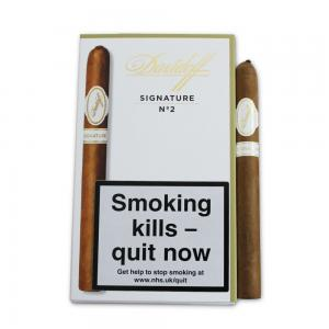 Davidoff Signature No. 2 Cigar - Pack of 5 cigars