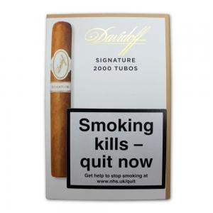 Davidoff Signature 2000 Tubos Cigar - Pack of 4