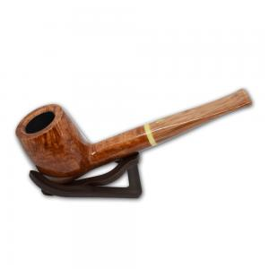 Savinelli Dolomiti 128 Smooth Light Brown 9mm Pipe (SAV12)