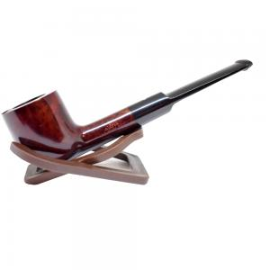 Alfred Dunhill Pipe – The White Spot Bruyere Straight Pot Pipe (3206)