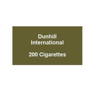 Dunhill International - 10 Packs of 20 Cigarettes (200)