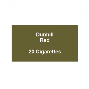 Dunhill King Size Red - 1 Pack of 20 cigarettes (20)