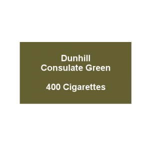 Dunhill Consulate Green King Size - 20 packs of 20 cigarettes (400)