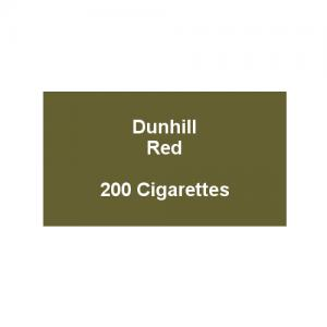 Dunhill King Size Red - 10 Packs of 20 cigarettes (200)
