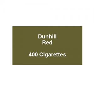 Dunhill King Size Red - 20 Packs of 20 cigarettes (400)