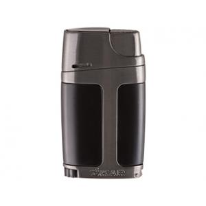 Xikar Element ELX Twin Jet Lighter with Punch Cutter - Charcoal
