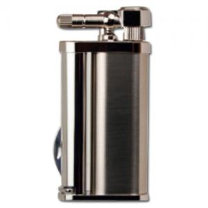 Tsubota Pearl - Eddie Pipe Lighter with Tool - Polished Silver