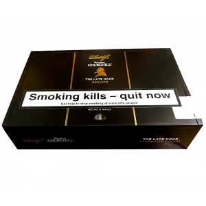 Empty Davidoff Winston Churchill Late Hour Robusto Cigar Box
