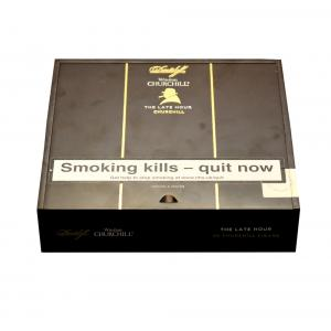 Empty Davidoff Winston Churchill Late Hour Churchill Cigar Box