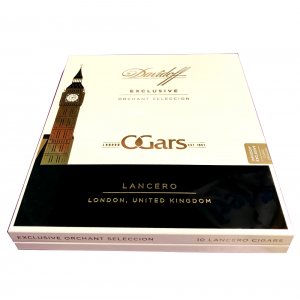 Empty Davidoff Exclusive Orchant Seleccion Lancero Cigar Box
