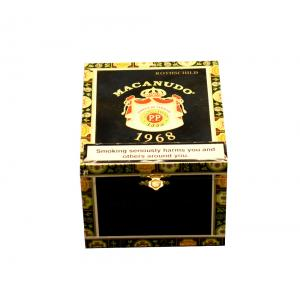 Empty Macanudo 1968 Rothschild Cigar Box