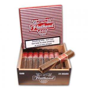 CAO Flathead Carb 660 Cigar - Box of 24