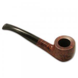 Great British Classic Pipe Smooth Bent Billiard