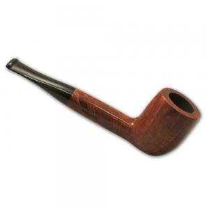 Great British Classic Pipe Smooth Straight Billiard