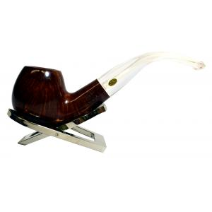 GBD Virgin Perspex 9606 Metal Filter Bent Fishtail Pipe (GBD014)