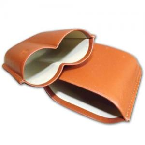 GBD Bombaso Cigar Case - up to 64 ring gauge - Tan