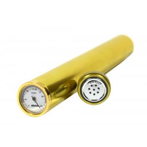 Adorini Gold Cigar Humidor Tube - Including Hygrometer