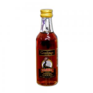 Goslings Black Seal Rum Miniature - 5cl 40%