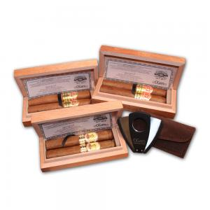 Turmeaus 200th Anniversary Twin Pack With X4 Cutter - 6 Cigars