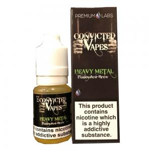Convicted Vapes - Heavy Metal - 10ml 3mg