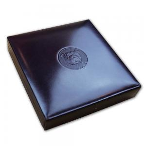 Dunhill Bulldog Travel Humidor - Purple - 10 Capacity