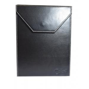 JANUARY SALE - Colibri Black Leather Travel Poker Humidor