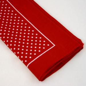 Wilsons of Sharrow Red Polka Dot Handkerchief