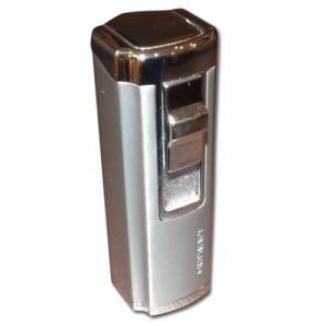 Honest Medlock - Triple Jet Lighter – Chrome (HON19)