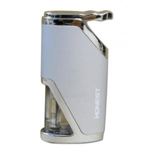 Honest Calder – Turbo Jet Lighter – Satin Chrome