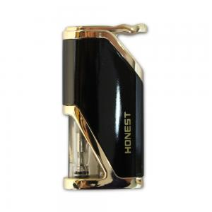 Honest Calder – Turbo Jet Lighter – Glossy Black and Gold