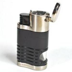 Honest Galway - Four Jet Lighter - Glossy Black