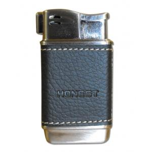 Honest Boyd Pipe Lighter – Black Leather