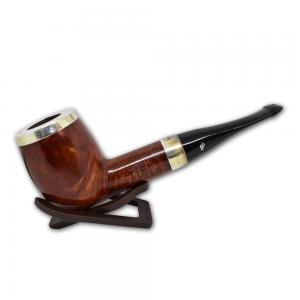 Peterson Large House Straight Terracotta Silver Cap P/Lip Pipe