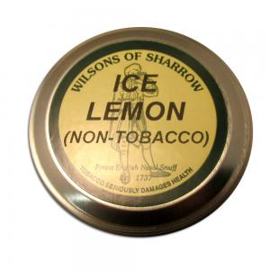 Wilsons of Sharrow - Ice Lemon (Non-tobacco) - Large Tin - 20g