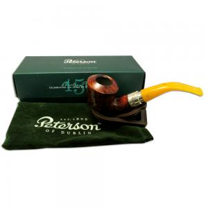 Peterson Rosslare Royal Irish Silver Mounted Pipe - B10 (G1003)