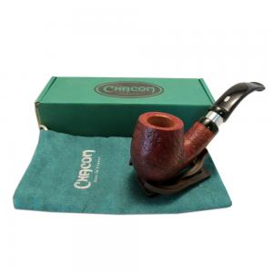 Chacom Robusto 9mm Large Brown Sandblast 191 Pipe