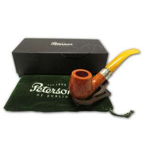 Peterson Rosslare Royal Irish Silver Mounted Pipe - 069