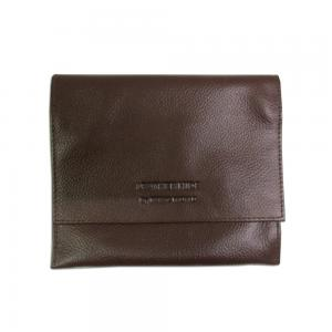 Classic Leather Pipe Tobacco Roll Up Pouch - Brown