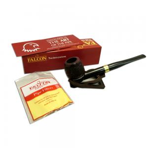 Falcon International Filter Rustic Straight Billiard Pipe (FAL003)