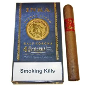 Inka Secret Blend - Red - Half Corona Cigar - Pack of 4